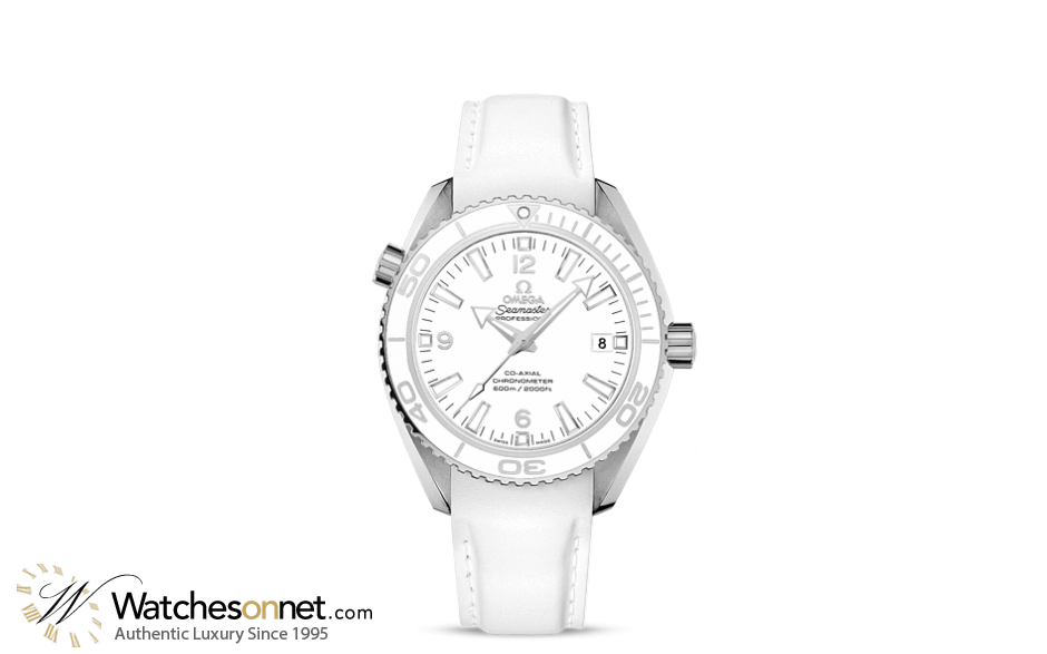 Omega Planet Ocean  Automatic Mid-Size Watch, Stainless Steel, White Dial, 232.32.42.21.04.001