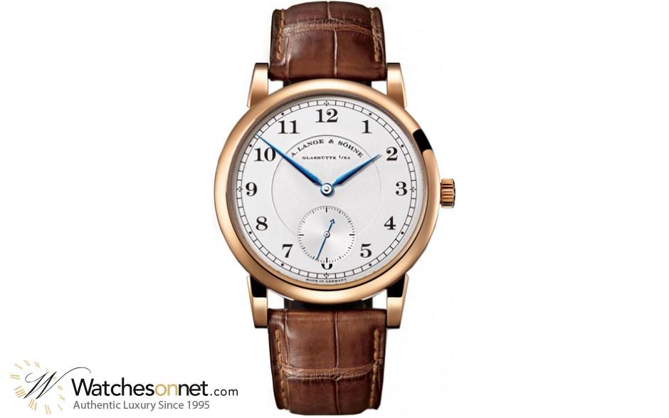A. Lange & Sohne 1815  Manual Winding Men's Watch, 18K Rose Gold, Silver Dial, 233.032