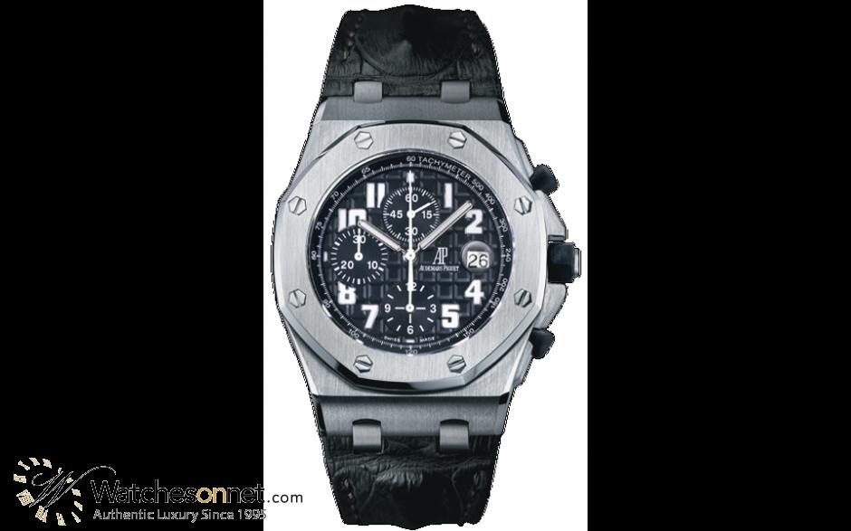 Audemars Piguet Royal Oak Offshore  Chronograph Automatic Men's Watch, Stainless Steel, Black Dial, 26170ST.OO.D101CR.03