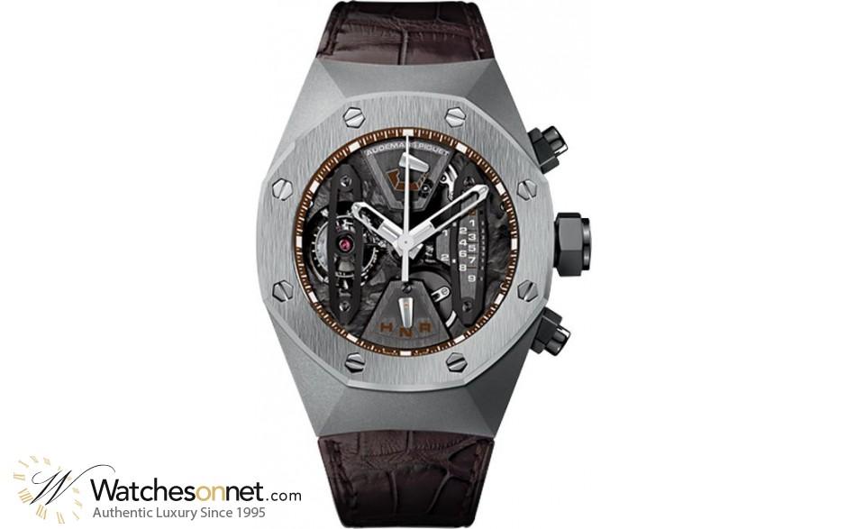 Audemars Piguet Royal Oak  Tourbillon Men's Watch, Titanium, Skeleton Dial, 26223TI.OO.D099CR.01
