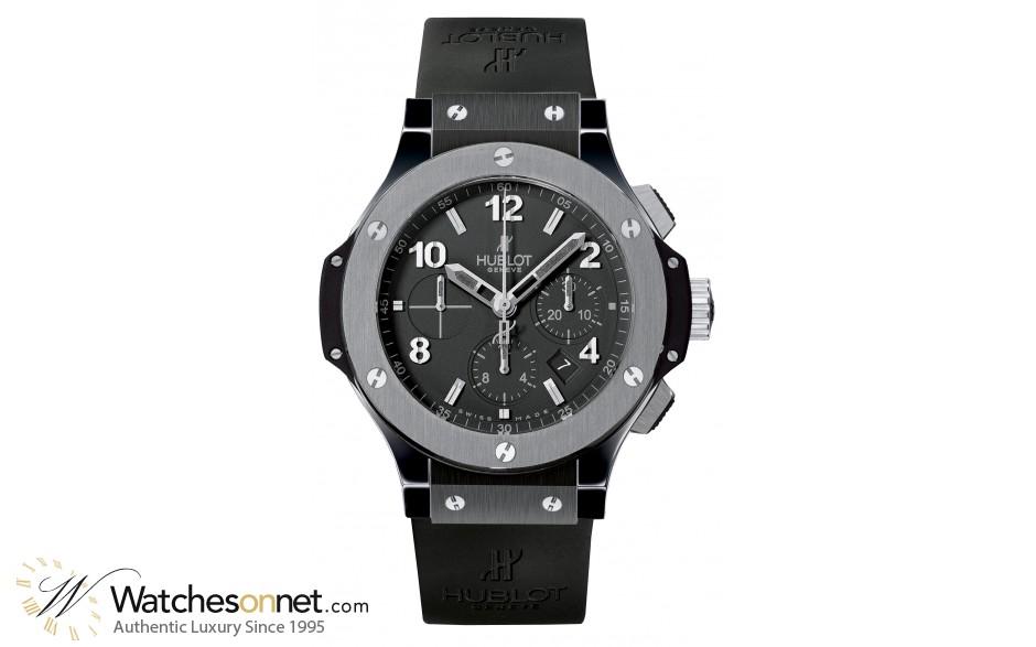 Hublot Big Bang 44mm  Chronograph Automatic Men's Watch, Ceramic, Black Dial, 301.ct.130.rx