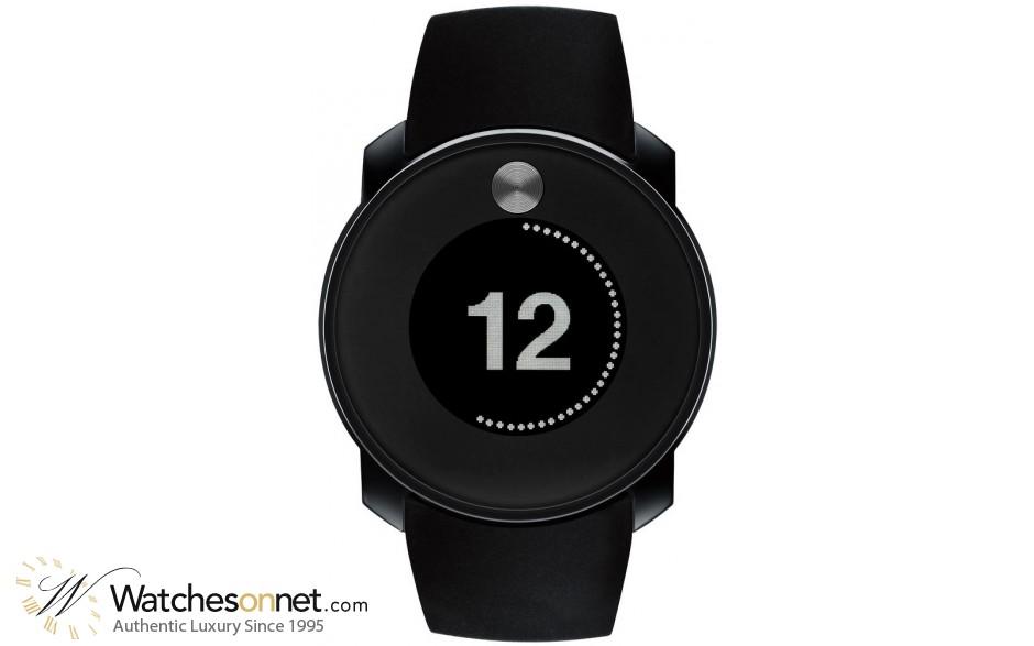 Movado Bold  Digital Men's Watch, Gunmetal, Black Dial, 3600365