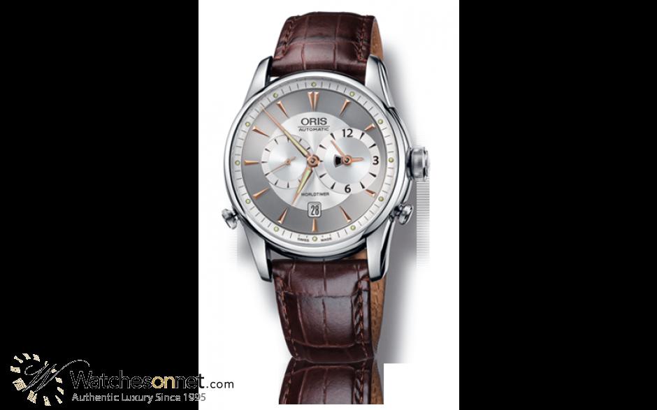 Oris Artelier  Automatic Men's Watch, Stainless Steel, Silver Dial, 690-7581-4051-07-5-22-70FC