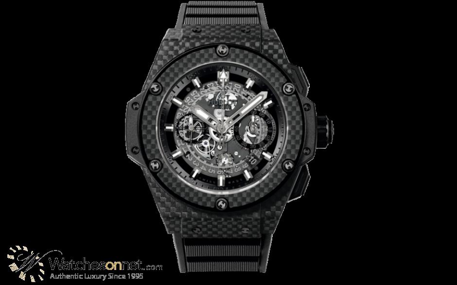 Hublot Big Bang King Power Limited Edition  Automatic Men's Watch, Carbon Fiber, Skeleton Dial, 701.QX.0140.RX