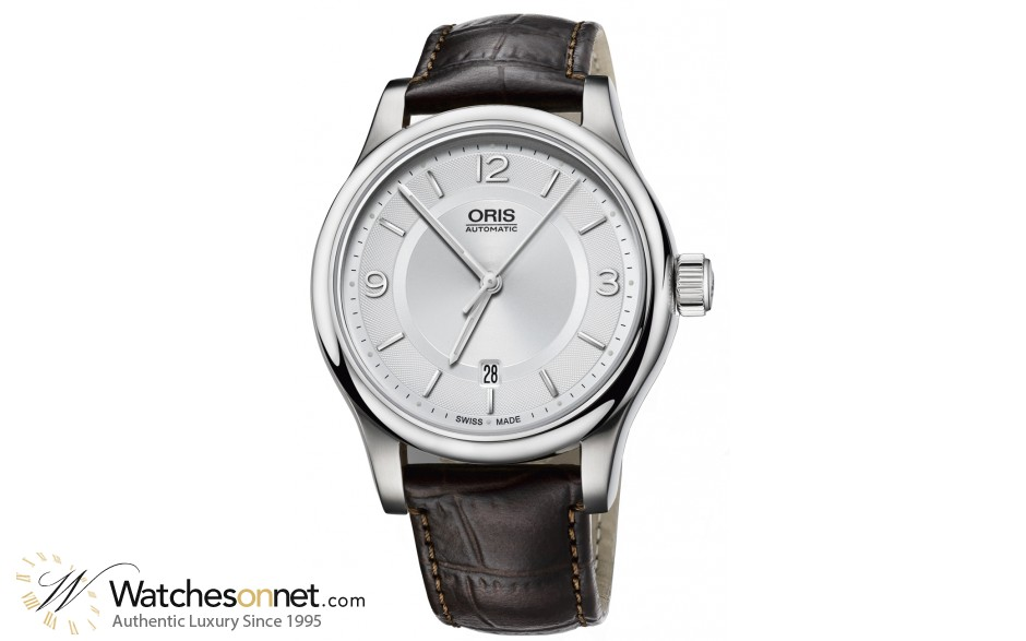 Oris Big Crown  Automatic Men's Watch, Stainless Steel, Silver Dial, 733-7594-4031-07-5-20-12