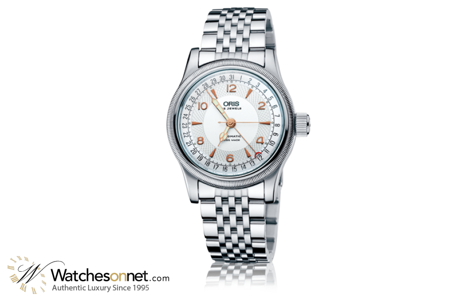 Oris Big Crown  Automatic Men's Watch, Stainless Steel, Silver Dial, 754-7543-4061-07-8-20-61