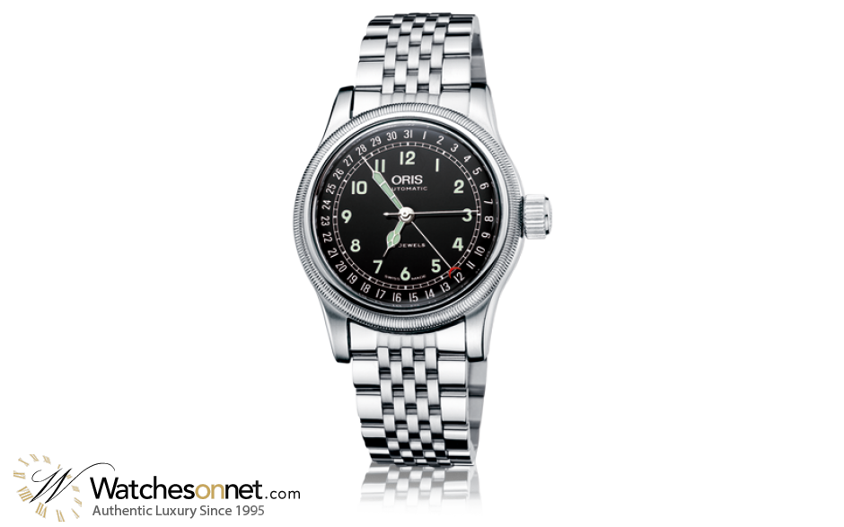 Oris Big Crown  Automatic Men's Watch, Stainless Steel, Black Dial, 754-7543-4064-07-8-20-61