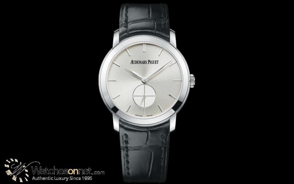 Audemars Piguet Jules Audemars  Mechanical Women's Watch, 18K White Gold, Silver Dial, 77238BC.OO.A002CR.01