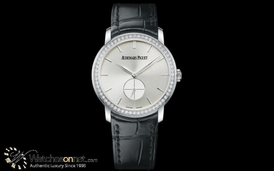 Audemars Piguet Jules Audemars  Mechanical Women's Watch, 18K White Gold, Silver Dial, 77239BC.ZZ.A002CR.01