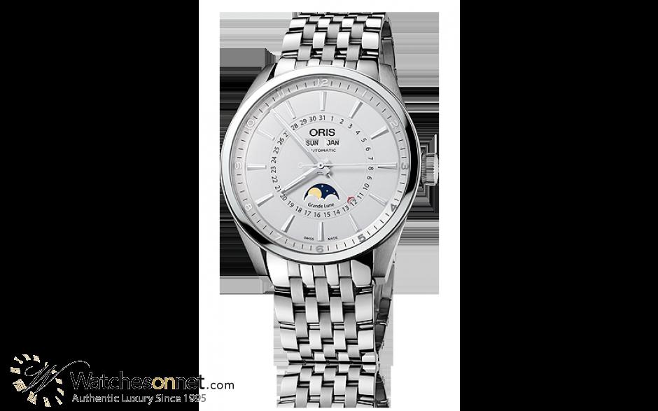 Oris Artix  Automatic Men's Watch, Stainless Steel, Silver Dial, 915-7643-4051-07-8-21-80