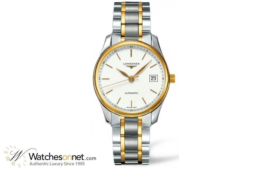 Longines Master  Automatic Men's Watch, Stainless Steel, White Dial, L2.518.5.12.7