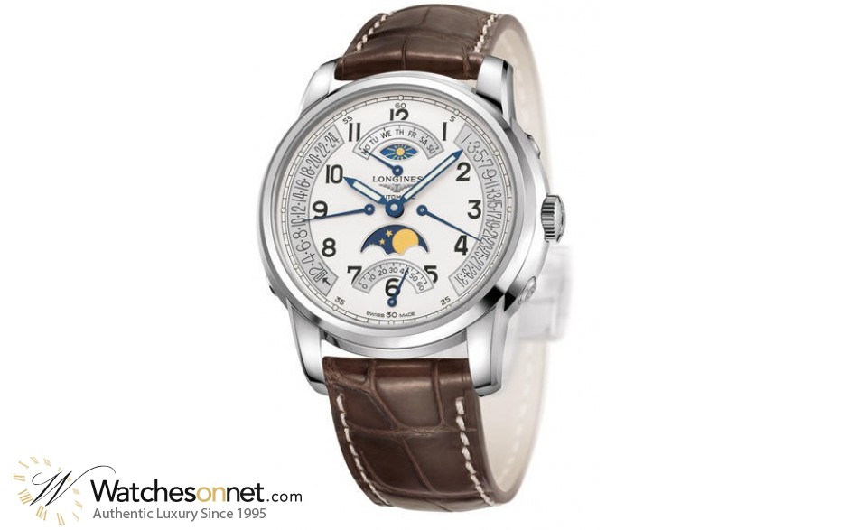 Longines Saint Imier  Automatic Men's Watch, Stainless Steel, Silver Dial, L2.764.4.73.0