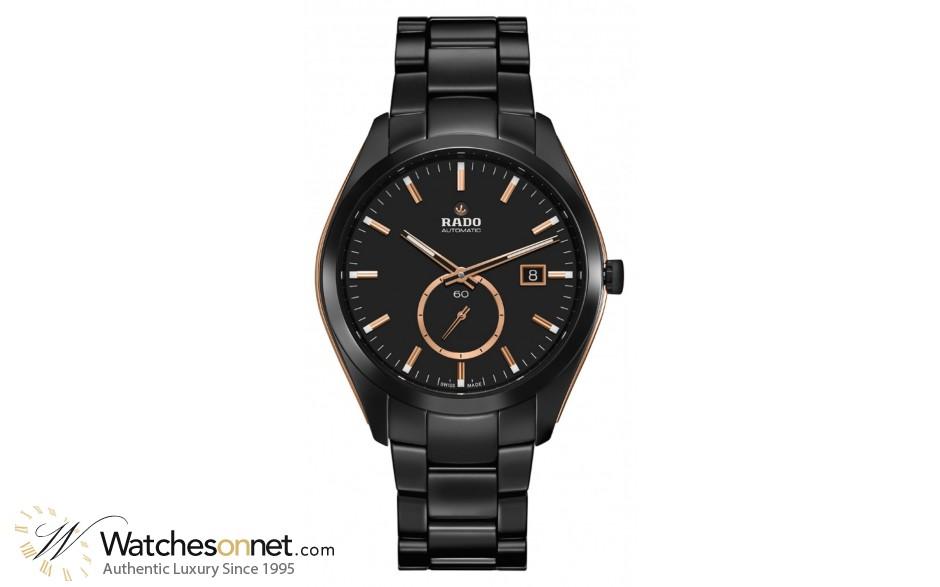 Rado Hyperchrome  Automatic Men's Watch, Ceramic, Black Dial, R32023152