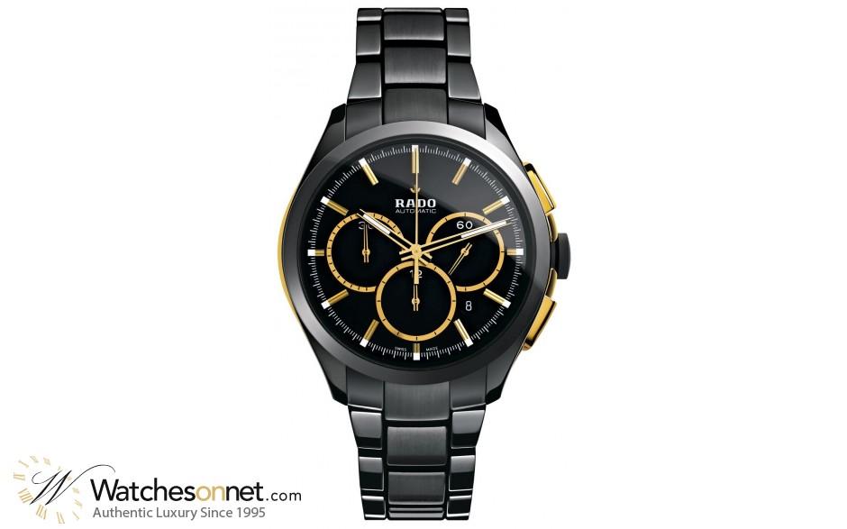 Rado Hyperchrome  Chronograph Automatic Men's Watch, Ceramic, Silver Dial, R32277152