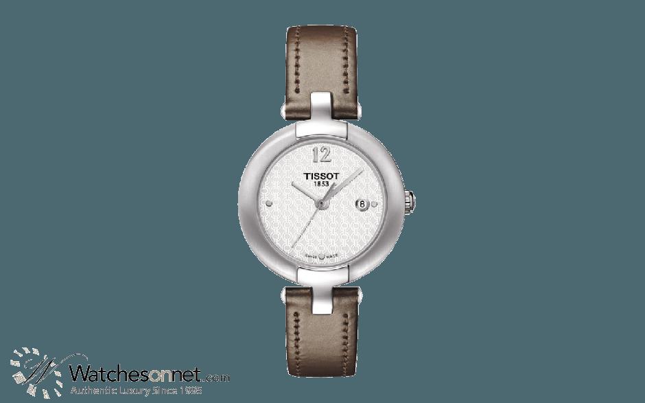 Tissot T-Trend  Quartz Women's Watch, Stainless Steel, White Dial, T084.210.16.017.01