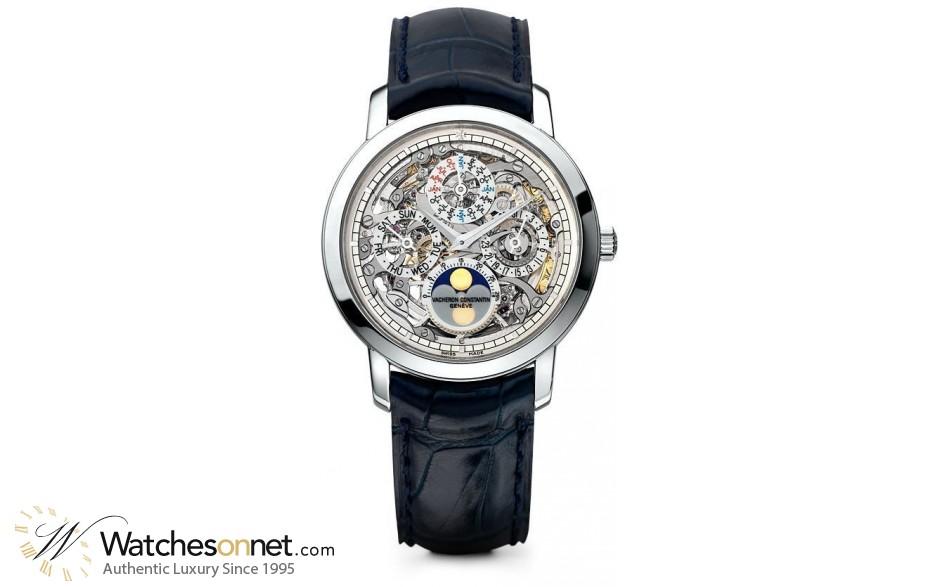 Vacheron Constantin Patrimony Traditionnelle  Manual Winding Men's Watch, Platinum, Skeleton Dial, 43172/000P-9236