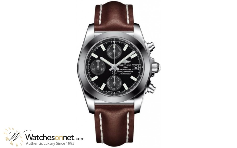 Breitling Galactic 41  Automatic Men's Watch, Stainless Steel, Black Dial, W1331012.BD92.431X