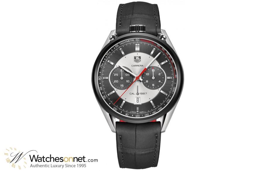 Tag Heuer Carrera  Chronograph Automatic Men's Watch, Titanium, Grey Dial, CAR2C11.FC6327