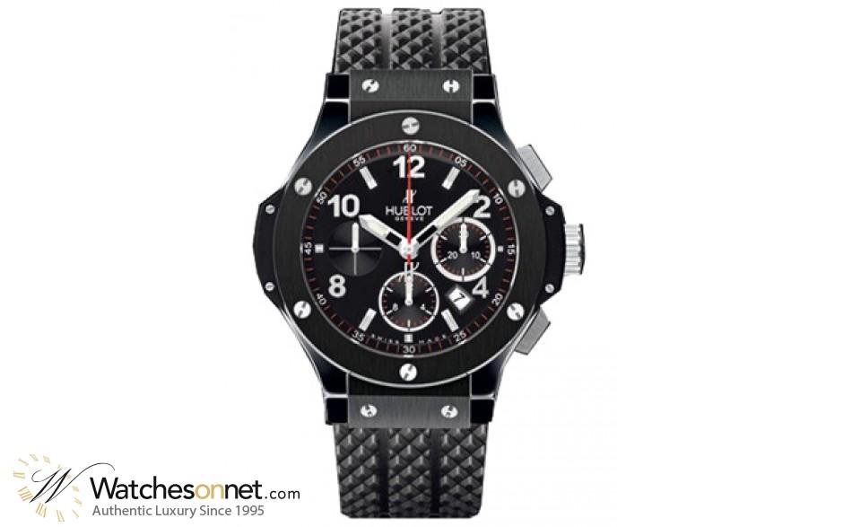 Hublot Big Bang 44mm  Chronograph Automatic Men's Watch, Ceramic, Black Dial, 301.CX.130.RX