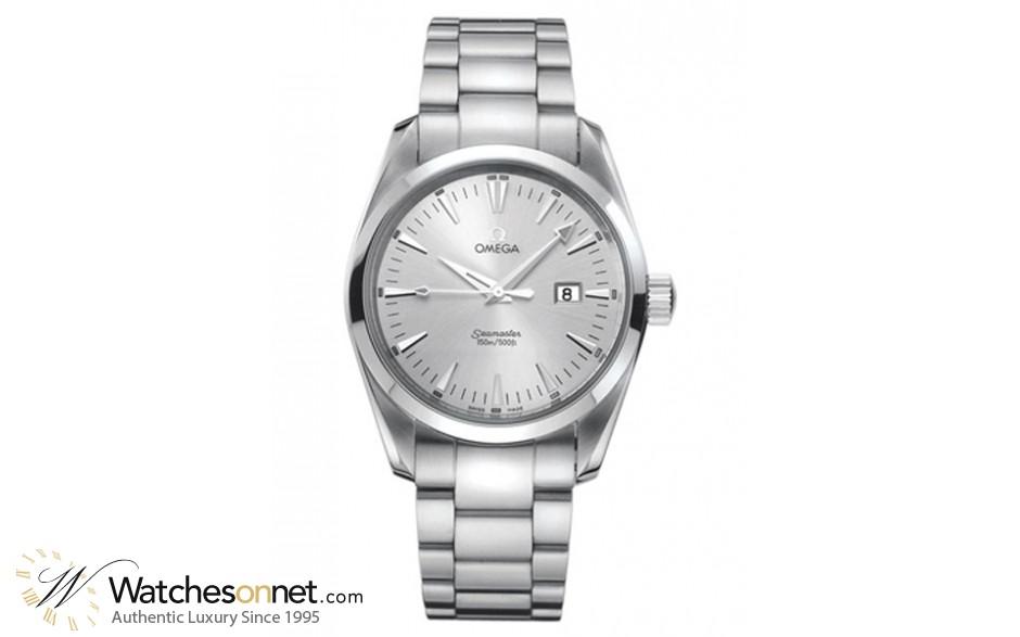 Omega Aqua Terra  Quartz Men's Watch, , Silver Dial, 2517.30.00