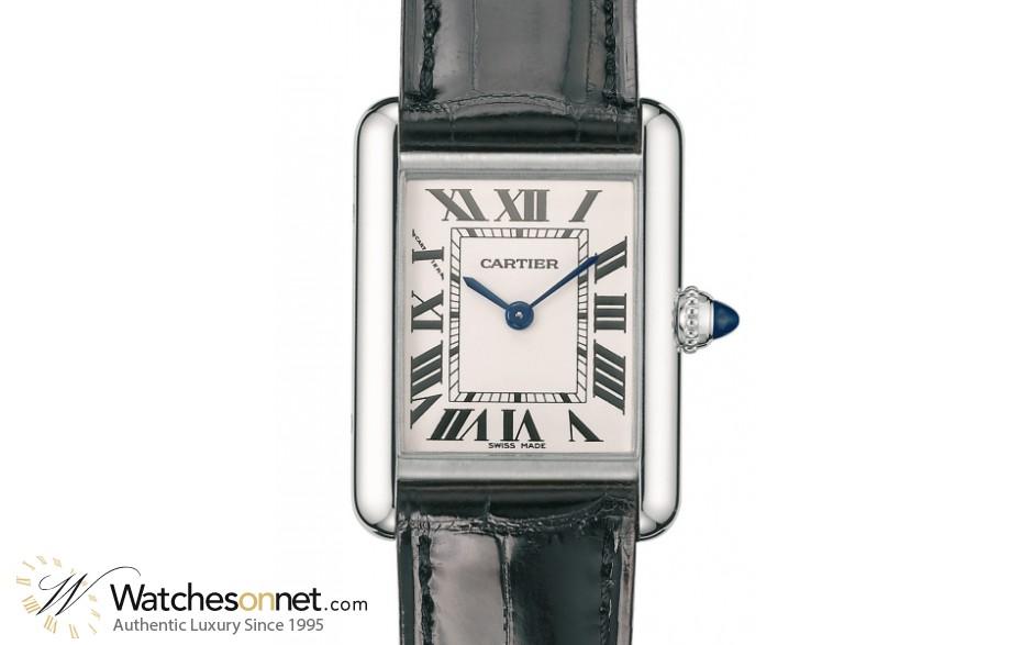 Cartier Tank Louis  Quartz Women's Watch, Stainless Steel, Silver Dial, W1541056