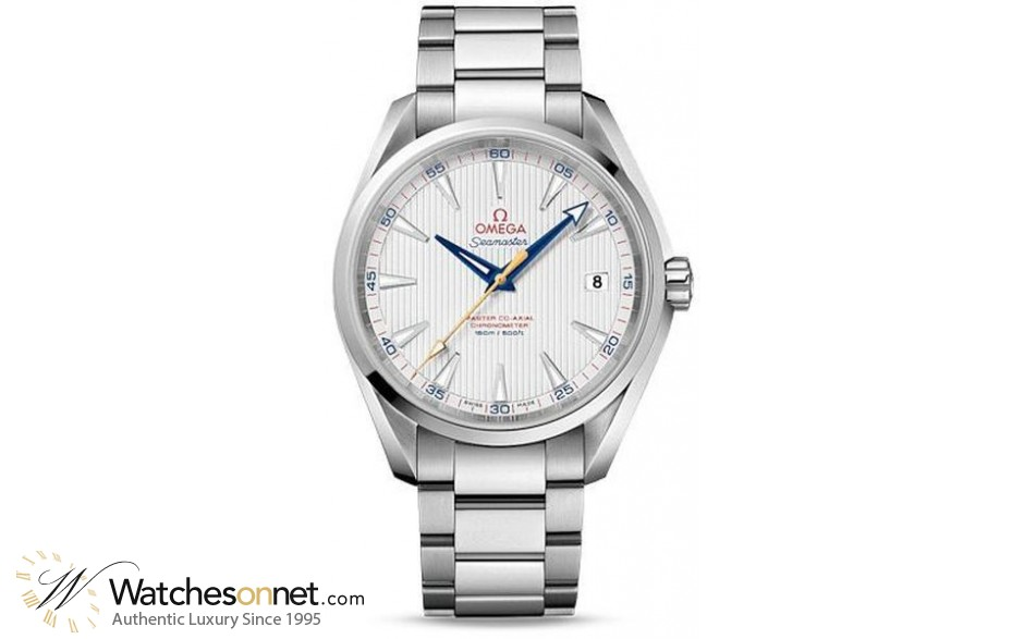 Omega Aqua Terra  Automatic Men's Watch, Stainless Steel, Silver Dial, 231.10.42.21.02.004