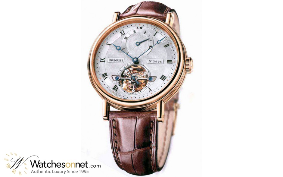 Breguet Classique Complications  Automatic Men's Watch, 18K Rose Gold, Silver Dial, 5317BR/12/9V6