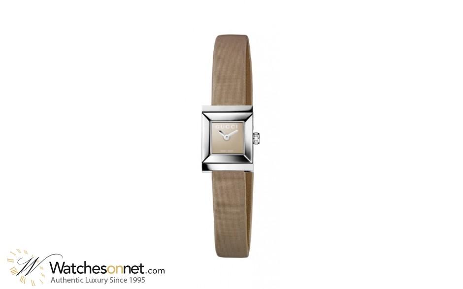 Gucci G-Frame YA128502 Women\'s Stainless Steel Quartz Watch