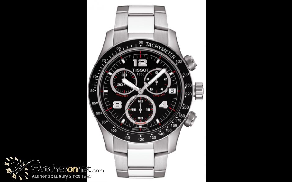 Tissot V8 T039 417 11 057 00 Men S Stainless Steel Chronograph