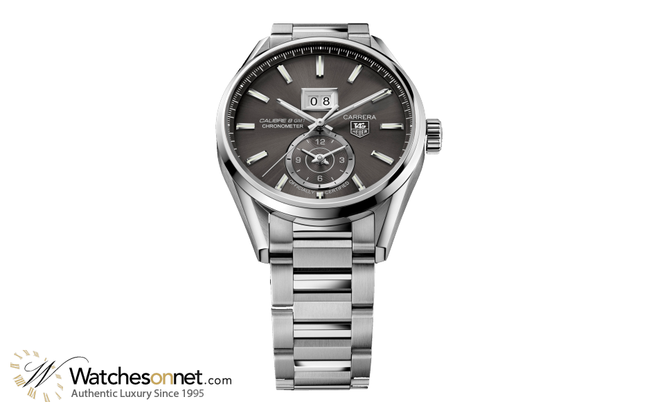 Tag Heuer Carrera  Automatic Men's Watch, Stainless Steel, Anthracite Dial, WAR5012.BA0723