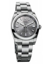 Rolex Oyster Perpetual 36  Automatic Men's Watch, Stainless Steel, Silver Dial, 116000-STL