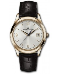 Jaeger Lecoultre Master  Automatic Men's Watch, 18K Rose Gold, Silver Dial, 1542520