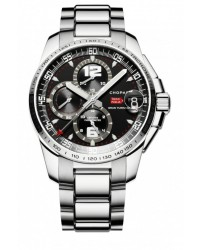 Chopard Classic Racing  Chronograph Automatic Men's Watch, Stainless Steel, Black Dial, 158459-3001