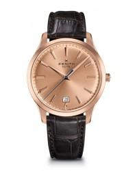 Zenith Captain  Automatic Men's Watch, 18K Rose Gold, Gold Dial, 18.2020.670/95.C498