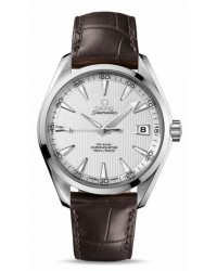 Omega Aqua Terra  Automatic Men's Watch, Stainless Steel, Silver Dial, 231.13.42.21.02.001