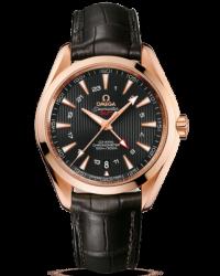 Omega Aqua Terra  Automatic Men's Watch, 18K Rose Gold, Black Dial, 231.53.43.22.06.002