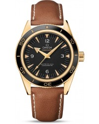 Omega Seamaster  Automatic Men's Watch, 18K Yellow Gold, Black Dial, 233.62.41.21.01.001