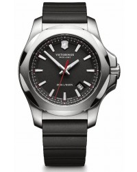 Victorinox Swiss Army I.N.O.X  Quartz Men's Watch, Stainless Steel, Black Dial, 241682.1