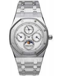 Audemars Piguet Royal Oak  Automatic Men's Watch, Platinum, Silver Dial, 25820SP.OO.0944SP.03