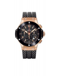 Hublot Big Bang 44mm  Chronograph Automatic Men's Watch, 18K Rose Gold, Black Dial, 301.PB.131.RX