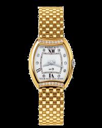 Bedat No 3  Quartz Women's Watch, 18K Yellow Gold, Silver Dial, 304.323.109