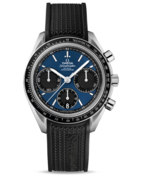 Omega Speedmaster  Chronograph Automatic Men's Watch, Stainless Steel, Blue Dial, 326.32.40.50.03.001