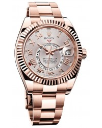 Rolex Sky Dweller  Automatic Men's Watch, 18K Rose Gold, SunDust Dial, 326935-SD
