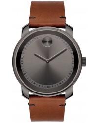 Movado Bold  Quartz Men's Watch, Gunmetal, Gray Dial, 3600366