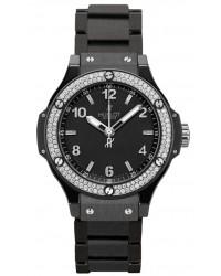 Hublot Big Bang 38mm  Quartz Men's Watch, Ceramic, Black Dial, 361.CV.1270.CM.1104