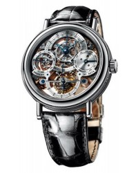 Breguet Classique Complications  Manual Winding Men's Watch, Platinum, Skeleton Dial, 3755PR/1E/9V6