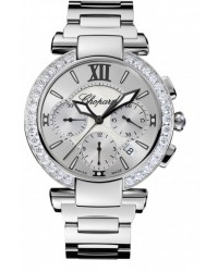 Chopard Imperiale  Chronograph Automatic Women's Watch, Stainless Steel, Silver Dial, 388549-3004