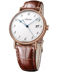 Breguet Classique  Automatic Men's Watch, 18K Rose Gold, White Dial, 5177BR/29/9V6