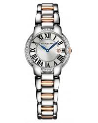 Raymond Weil Jasmine  Automatic Women's Watch, Gold Tone, Silver Dial, 5229-S5S-00659