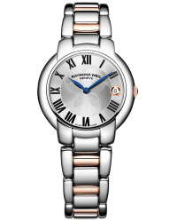 Raymond Weil Jasmine  Quartz Women's Watch, Stainless Steel, Silver Dial, 5235-S5-01659
